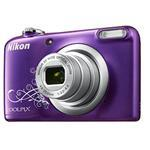 Digital Camera Coolpix A10 16.1 Mpix 5x Op Zoom 4x Digital Zoom 2.7in LCD Purple Lineart