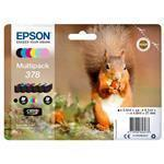 Ink Cartridge - 378 Squirrel - Black/ Yellow/ Cyan/ Magenta/ Light Magenta/ Light Cyan Sec