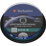 M-disc DVD R 4x 4.7GB Inkjet Printable 10-pk