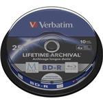 M-disc Bd-r 4x 25 GB Inkjet Printable 10-pk