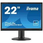 Desktop Monitor - ProLite B2280WSD-B1 - 22in - 1680x1050 (WSXGA+) - Black