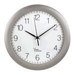 Dcf Radio Wall Clock Pg-300/ Silver