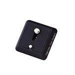 Quick Release Plate 41.7x41.7 mm Photo/Video Aluminium Black
