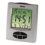 Radio Controlled Alarm Clock Rc330/ Silver