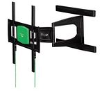 Ultraslim Fullmotion Tv Wall Bracket, 3 Stars, L/ Black
