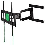 Ultraslim Fullmotion Tv Wall Bracket, 3 Stars, Xl, 2 Arms/ Black