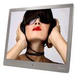 Digital Photo Frame 10Slp - 25.40cm (10.0in) Slim Steel Music & Video