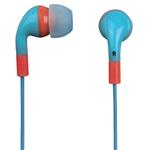 Flip flop In-Ear Stereo Earphone - Ocean/Coral