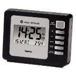 Fashion Plus Radio Controlled Alarm Clock, Black