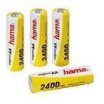 Ready4Power NiMH Rechargeable Battery 4x AA (Mignon - HR 6) 2400mAh