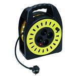 Cable Reel 15m Black/yellow